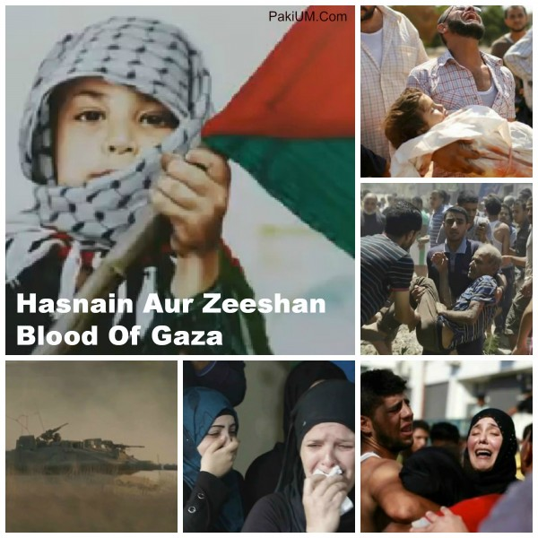 Hasnain Aur Zeeshan – Blood Of Gaza (Official Audio)
