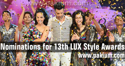 13th lux style awards 2014 nominations