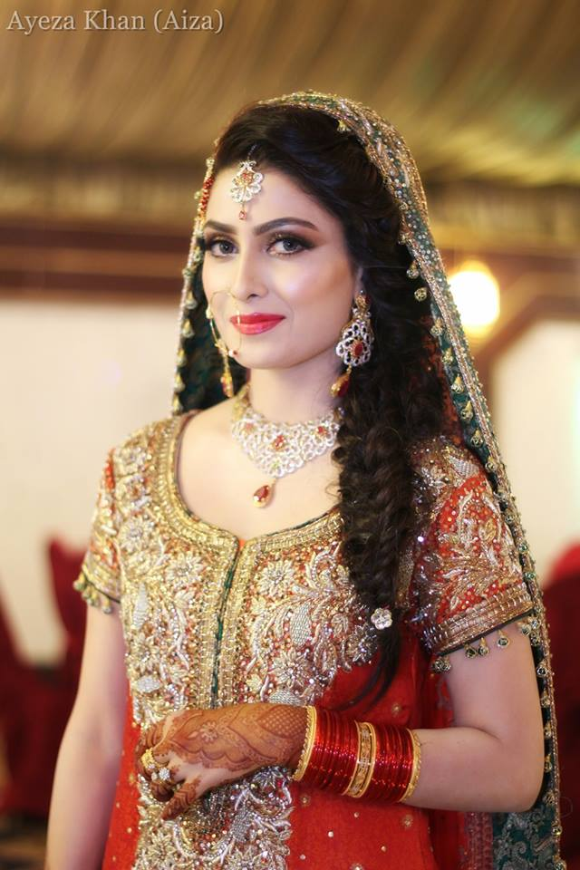 Ayeza Khan and Danish Taimoor's Baraat (Wedding Pictures ...