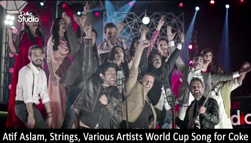 atif aslam strings world cup 2015 coke song