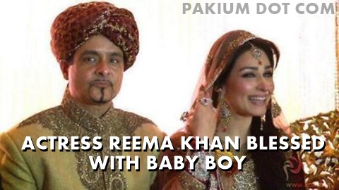 Actress Reema Khan blessed with baby boy