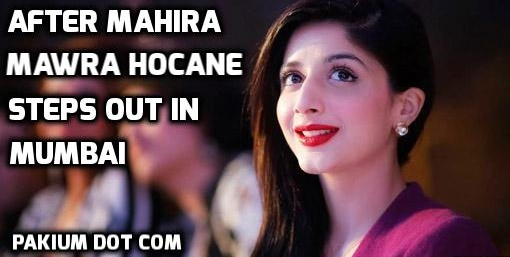 After Mahira, Mawra Hocane steps out in Mumbai - featured