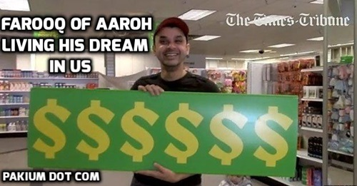 Farooq of Aaroh living his dream in US