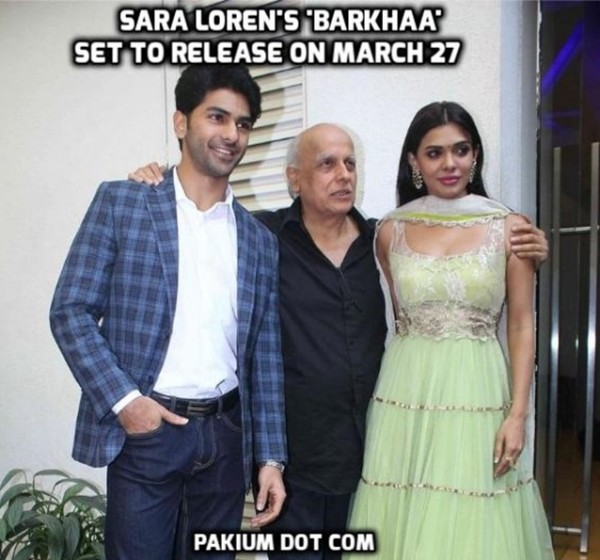 Sara Loren's 'Barkhaa' set to release on March 27 poster