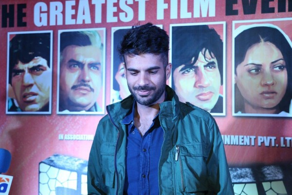 Adnan Malik at Sholay premier