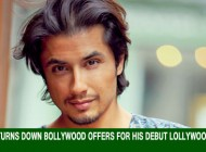 Ali Zafar turns down Bollywood offers for his debut Lollywood venture