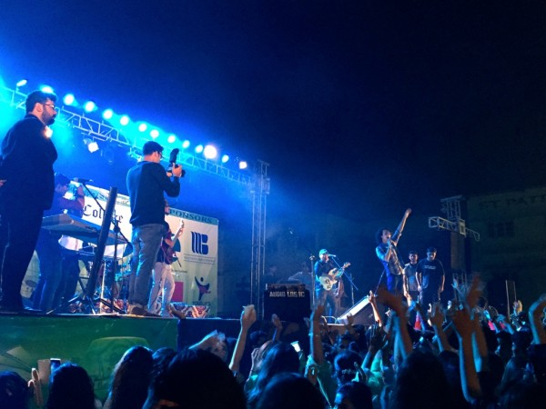Mizmaar Performing at St Patricks Karachi [3]
