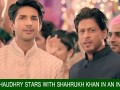 Adeel-Chaudhry-stars-with-Shahrukh-Khan-in-an-Indian-ad