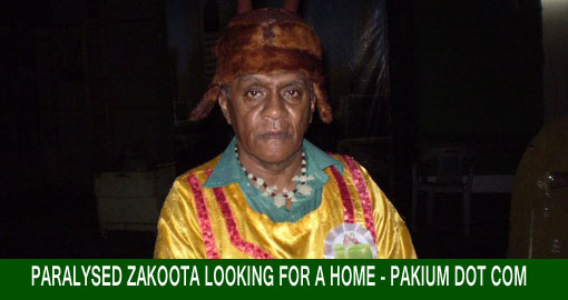Paralysed Zakoota looking for a home